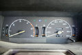 Car speedometer dial dashboard Royalty Free Stock Photo