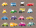 Car stickers Royalty Free Stock Image