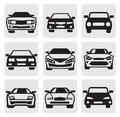 Car symbols set Stock Image
