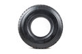 Car tire isolated on white background. Royalty Free Stock Photo