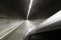 Car in tunel Royalty Free Stock Photo