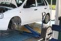 car under repair Royalty Free Stock Photo