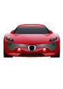 Car Vector on White Background. Business sport car .
