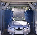 Car wash in process Stock Photography