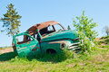 A car wreck Royalty Free Stock Photo