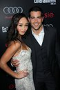 Cara santana jesse metcalfe and at the entertainment weekly pre sag party chateau marmont west hollywood ca Stock Image
