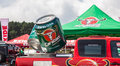 Carabao jeep in srilanka racing x diyathalawa fox hill super cross event april Stock Photo
