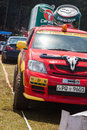 Carabao jeep in srilanka racing x diyathalawa fox hill super cross event april Stock Image