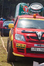 Carabao jeep in srilanka racing x diyathalawa fox hill super cross event april Royalty Free Stock Photography
