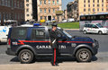 Carabinieri Royalty Free Stock Photography