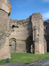Caracalla's Baths Royalty Free Stock Photos