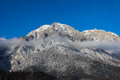 Caraiman Peak, Bucegi Mountains Royalty Free Stock Photo