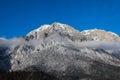 Caraiman Peak, Bucegi Mountains Royalty Free Stock Photo