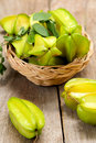 Carambola (Star Fruit) Royalty Free Stock Images