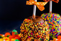 Caramel apple Royalty Free Stock Photo