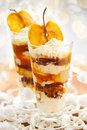 Caramel Apple Parfait Royalty Free Stock Images