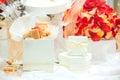 Caramel fudge confectionery Royalty Free Stock Photo