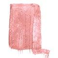 Caramel pink background. Grunge surface pattern design. Washes texture.