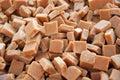 Caramel toffee squares