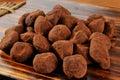 Caramel Truffles Royalty Free Stock Photos