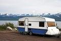 Photo : Caravan holiday