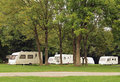 Caravan Park Camping Stock Photos