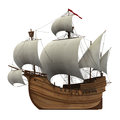 Caravel Royalty Free Stock Photo
