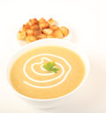 Caraway Soup Stock Photo