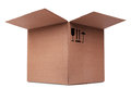 Carboard Box Royalty Free Stock Photo