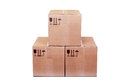 Carboard Boxes Stock Image