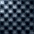 Carbon fibre fiber texture Royalty Free Stock Photo