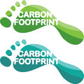Carbon Footprint vector