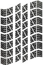 Carbon Tread Isolated Stock Photos