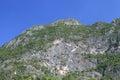 Carbonate mountain peak thailand national park Stock Image