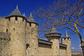 Carcassonne castle Royalty Free Stock Photography