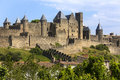 Carcassonne Fortress - France Stock Photo