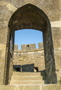 Carcassonne france aude languedoc roussillon the medieval walls Royalty Free Stock Image