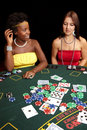 Card gambling Stock Photos