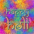 Card Happy Holi