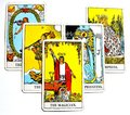 The Magician Tarot Card Power Intelect Magic Control White Background Royalty Free Stock Photo