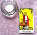 The Magician Tarot Card Power Intelect Magic Control Royalty Free Stock Photo
