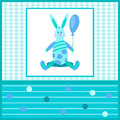 Card for kids with a Bunny-01