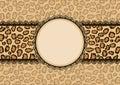 Tarjeta textura y encaje marco