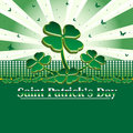 Card for Saint Patrick's Day Royalty Free Stock Photos