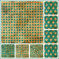 Card suits seamless pattern abstract background abstract Royalty Free Stock Images
