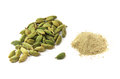 Cardamom isolated Royalty Free Stock Photo