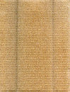 Cardboard background textured recycled striped with natural fiber parts Royalty Free Stock Photo