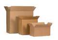 Cardboard boxes Royalty Free Stock Photo