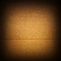 Cardboard closeup of brown texture Royalty Free Stock Photos
