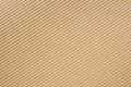 Cardboard corrugated pattern background angled Stock Images